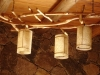Detalles cabaña de La Loma